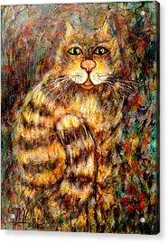 LEO Acrylic Print by Natalie Holland