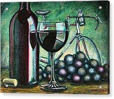 L'eroica Still Life Acrylic Print by Mark Howard Jones
