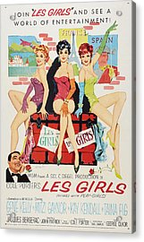 Les Girls Acrylic Print by MMG Archives