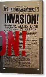 Les Invalides - Paris France - 011351 Acrylic Print by DC Photographer