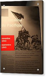Les Invalides - Paris France - 011358 Acrylic Print by DC Photographer