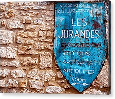 Les Jurandes Bonaguil Acrylic Print by Georgia Fowler