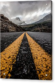 Less Traveled Acrylic Print by Aaron Aldrich