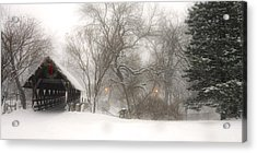 Let It Snow Acrylic Print by Andrew Soundarajan