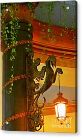 Let Me Light That For You Acrylic Print by John Malone