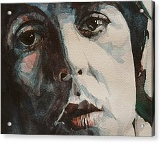 Let Me Roll It Acrylic Print by Paul Lovering