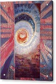 Let The Sunshine In Acrylic Print by Anne-Elizabeth Whiteway