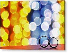 Let's Celebrate Acrylic Print by Suradej Chuephanich