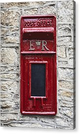 Letterbox Acrylic Print by Joana Kruse