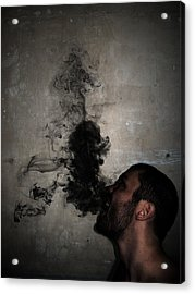 Letting The Darkness Out Acrylic Print by Nicklas Gustafsson