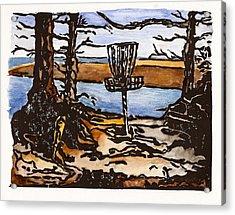 Lewisville Lake Hole Three Acrylic Print by Jason Reid