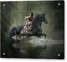 Liberated Acrylic Print by Fran J Scott