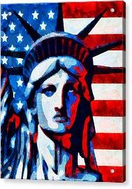 Liberty 2 Acrylic Print by Angelina Vick