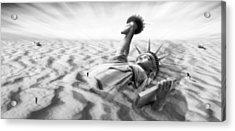 Liberty Park II Panoramic Acrylic Print by Mike McGlothlen