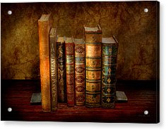 Librarian - Writer - Antiquarian Books Acrylic Print by Mike Savad