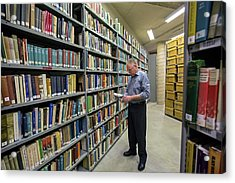 Library Acrylic Print by Jim West