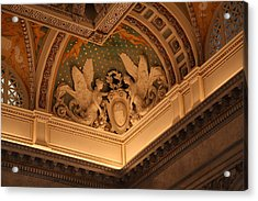 Library Of Congress - Washington Dc - 011316 Acrylic Print by DC Photographer