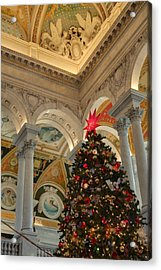 Library Of Congress - Washington Dc - 01139 Acrylic Print by DC Photographer