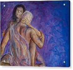 Liebestraume Acrylic Print by Nik Helbig