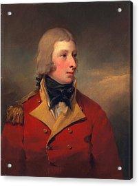 Lieutenant Andrew Agnew, C.1795 Acrylic Print by Sir Henry Raeburn