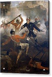 Lieutenant William Alexander Kerr Acrylic Print by Chevalier Louis-William Desanges