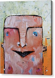 Life As Human No. 37 The Lost Tribe Acrylic Print by Mark M  Mellon