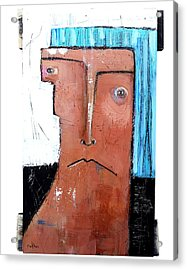 Life As Human Number Fifteen Acrylic Print by Mark M  Mellon