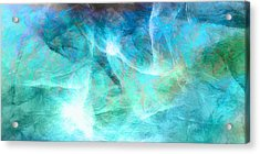 Life Is A Gift - Abstract Art Acrylic Print by Jaison Cianelli