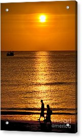 Life Is Beautiful Acrylic Print by Adrian Evans