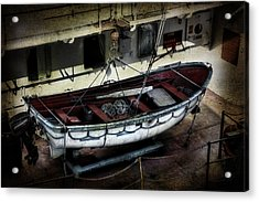 Lifeboat Acrylic Print by Evie Carrier