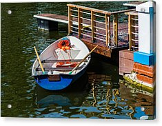 Lifeboat On Duty - Featured 3 Acrylic Print by Alexander Senin