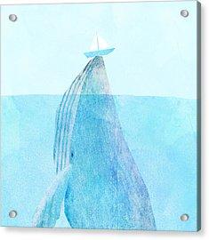 Lift Acrylic Print by Eric Fan