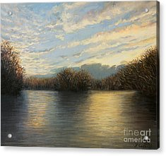 Light At The End Of The Day Acrylic Print by Kiril Stanchev