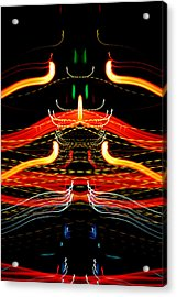 Light Fantastic 39 Acrylic Print by Natalie Kinnear