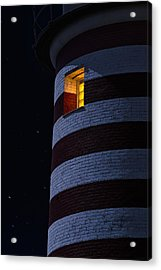 Light From Within Acrylic Print by Marty Saccone