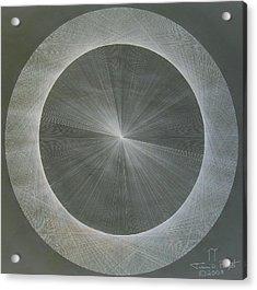 Light Is Pi  The Shape Of Pi Acrylic Print by Jason Padgett
