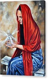 Light My Candle Acrylic Print by Ilse Kleyn