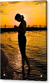 Light Of My Life Acrylic Print by Frozen in Time Fine Art Photography