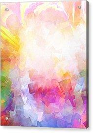 Lightforces Artwork Acrylic Print by Lutz Baar