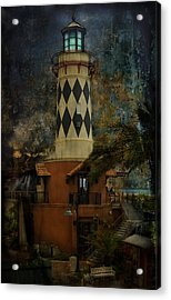 Lighthouse Acrylic Print by Mario Celzner