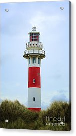 Lighthouse Newport Acrylic Print by LHJB Photography