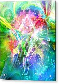 Lightsinfonia Acrylic Print by Lutz Baar