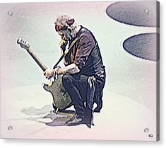 Like A Rolling Stone Acrylic Print by Sue Rosen