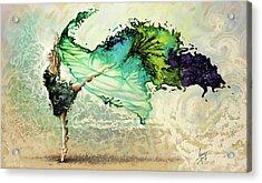 Like Air I Will Raise Acrylic Print by Karina Llergo Salto