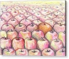 Like Apples And Oranges Acrylic Print by Shana Rowe Jackson