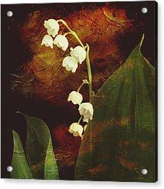 Lily Of The Valley Acrylic Print by Patricia Januszkiewicz