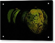Limes Acrylic Print by Toppart Sweden
