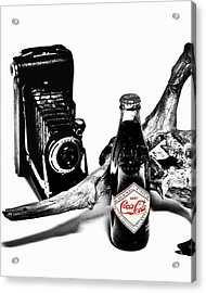 Limited Edition Coke - No.008 Acrylic Print by Joe Finney