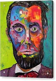 Lincoln Acrylic Print by Arturo Garcia
