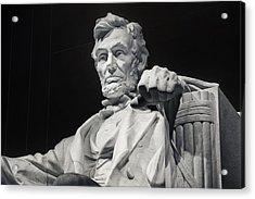 Lincoln Acrylic Print by Joan Carroll